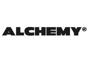 This is the logo for Alchemy